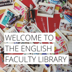 Welcome to EFL at the Faculty of English