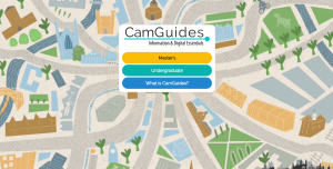 A screenshot of the website CamGuides